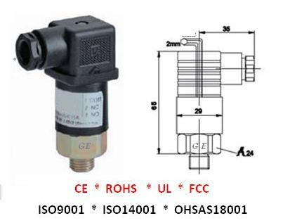 GE-208 Adjustable Pressure Switches