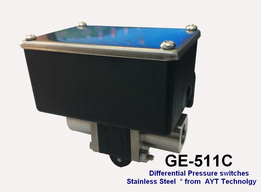 GE-511 Adjustable Differential Pressure Switch