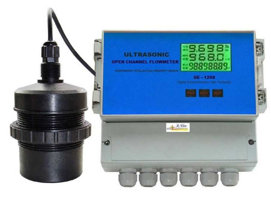 GE-1208  Open Channel Ultrasonic Flowmeter