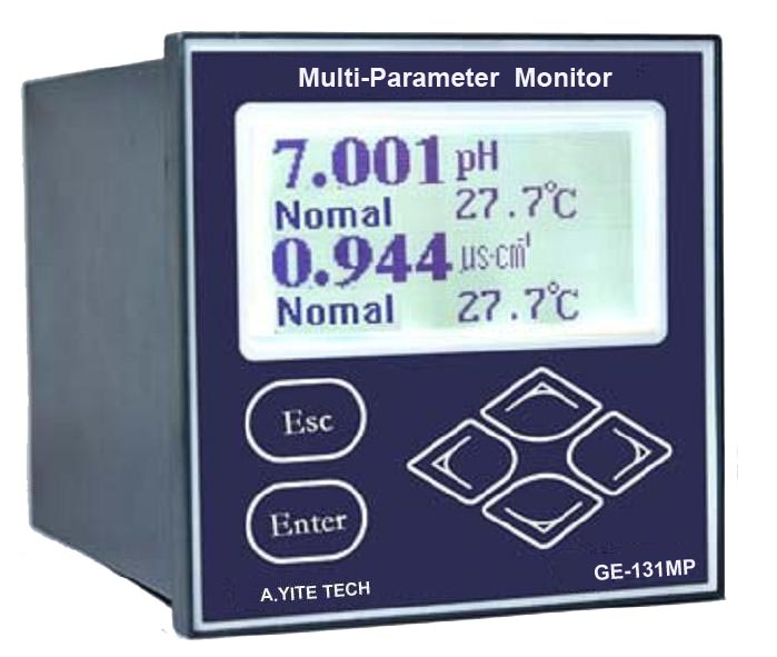 GE-131 Multi-Parameter Water Analyzer (PH ORP Conductive Temperature)