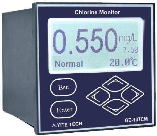 GE-137 Residual Chlorine Concentration Analyzer