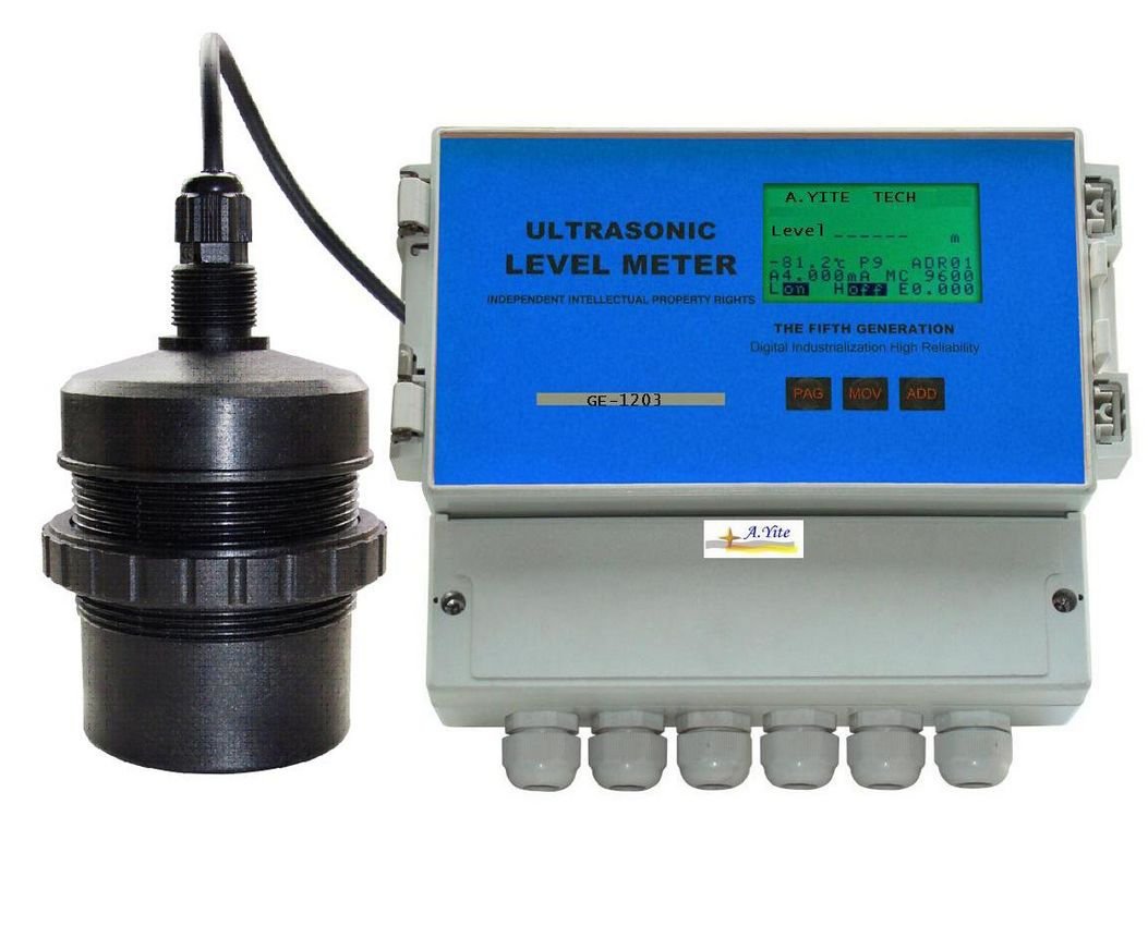 GE-1203 Separated Ultrasonic Level Meter 0.25% accuracy