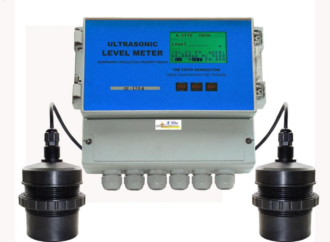 GE-1204 Ultrasonic Differential Level Meter