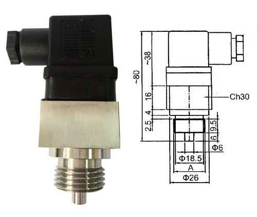 GE-379 Dual Metal Temperature Switches