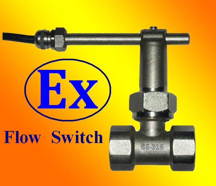 GE-316 Explosion Proof Paddle Flow Switches