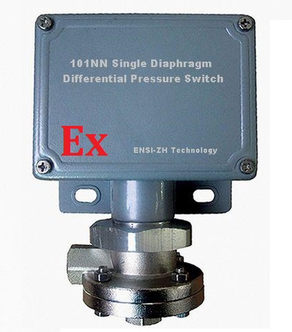 101NN Single Diaphragm Differential Pressure Switch