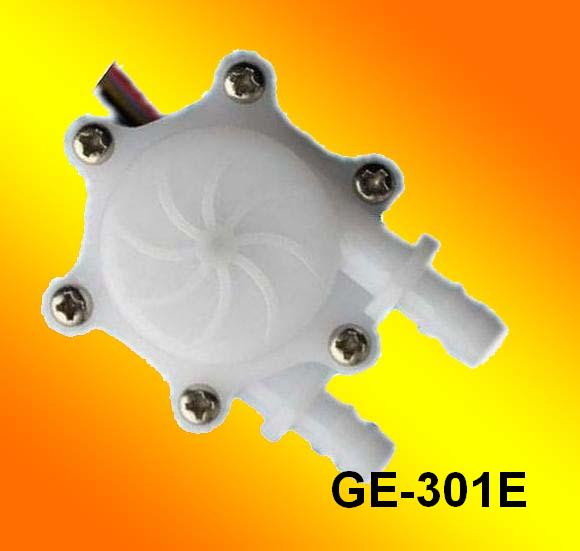 GE-301E Water Flow Sensor with Barbed Fitting