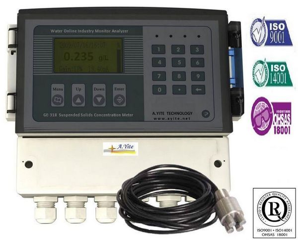 GE-138 MLSS Suspended Solids Sludge Concentration Meter