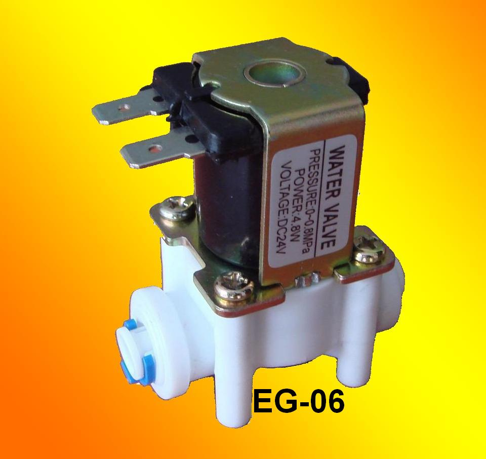 Inlet Water Valve with quick coupling